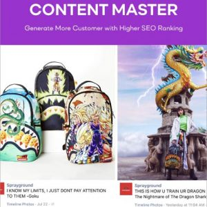 Content Development and Marketing Services Master package