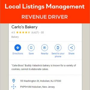 Local Listings Management Services that increases revenue