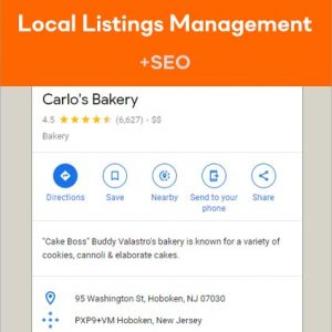Local Listings Management Services with SEO